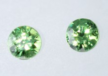 Demantoid-Paar